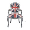 Derry's Louis Upholstered Dining Chair