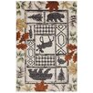 American Rug Craftsmen Madison Autumn Leaves Linen Area Rug