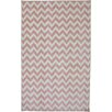 American Rug Craftsmen Crib 2 College Fun Lines Pink Area Rug