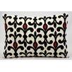 Kathy Ireland Home Gallery Palace Wool Lumbar Pillow