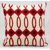 Kathy Ireland Home Gallery Villa Wool Throw Pillow
