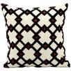 Kathy Ireland Home Gallery Crossroads Wool Throw Pillow