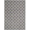 Kathy Ireland Home Gallery Hollywood Shimmer Times Square Steel Area Rug