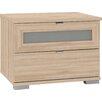 Wimex Nachttisch Box mit 2 Schubladen