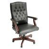 Regency Ivy League High-Back Traditional Vinyl Swivel Executive Chair