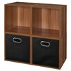 "Regency Niche Cubo 6 Piece 26"" Cube Unit Bookcase"