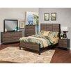 Sandberg Furniture Nova Panel Customizable Bedroom Set