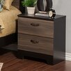 Sandberg Furniture Nova 2 Drawer Nightstand