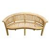 D-Art Collection Island Teak Wood Garden Bench
