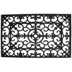 J and M Home Fashions Wrought Iron Welcome Doormat