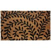 J and M Home Fashions Ferns Doormat