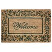 J and M Home Fashions Leaves Doormat