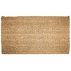 J and M Home Fashions Plain Tile Loop Doormat