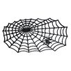 J and M Home Fashions Halloween Spider Doormat