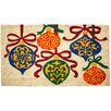 J and M Home Fashions Christmas Ornaments Doormat