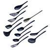 Hutzler 12 Piece Cook And Serve Melamine Utensil Set