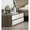 Wiemann 2-tlg. Nachttisch-Set Loft mit 2 Schubladen
