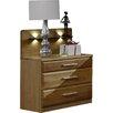 Wiemann 2-tlg. Nachttisch-Set Toledo mit 3 Schubladen
