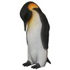 3.5 ft Female King Penguin Statue - Queens of Christmas Garden Statues and Outdoor Accents