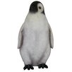 2 ft Juvenile King Penguin Statue - Queens of Christmas Garden Statues and Outdoor Accents