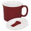 World Kitchen 22 oz. Red Corning Ware Mug