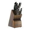 Zwilling JA Henckels Euroline Stainless Damascus 7 Piece Knife Block Set
