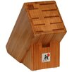 Zwilling JA Henckels Miyabi 10-Slot Bamboo Knife Bock