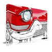 Maxwell Dickson 'Restore' Car Graphic Art on Wrapped Canvas
