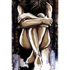 Maxwell Dickson 'Ashley' Graphic Art on Wrapped Canvas