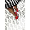 Maxwell Dickson 'Classy' Fashion Graphic Art on Wrapped Canvas