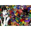 "Maxwell Dickson ""Audrey Hepburn"" Painting Print on Canvas"