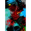 """Maxwell Dickson """"Living Color"""" Graphic Art on Canvas"""