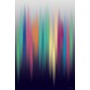 Maxwell Dickson Aurora Abstract Graphic Art on Wrapped Canvas