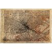Maxwell Dickson 'Map Los Angeles 1926' Antique Old Graphic Art on Wrapped Canvas