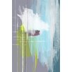 Maxwell Dickson 'The Architect' Abstract Painting Print on Wrapped Canvas