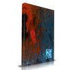 Maxwell Dickson 'Strike' Abstract Graphic Art on Wrapped Canvas