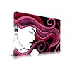 Maxwell Dickson 'Let it Flow' Fashion Graphic Art on Wrapped Canvas