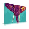Maxwell Dickson 'Elephant in the Room' Animal Graphic Art on Wrapped Canvas
