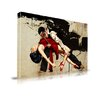 Maxwell Dickson 'The Dance' Graphic Art on Wrapped Canvas