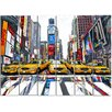 Maxwell Dickson Time Square Painting Print on Canvas