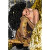 Maxwell Dickson 'Resting Angel' Graphic Art on Wrapped Canvas