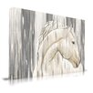 Maxwell Dickson Horse Painting Print on Canvas