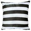 Maxwell Dickson Stripes Throw Pillow