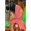 Maxwell Dickson Bassa Girl Graphic Art on Canvas