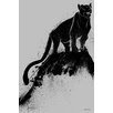 Maxwell Dickson Cat Painting Print on Wrapped Canvas
