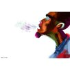 Maxwell Dickson Guy Breathe Painting Print on Wrapped Canvas