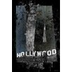 """Maxwell Dickson """"Hollywood"""" Graphic Art on Canvas"""