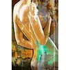 Maxwell Dickson 'Essence' Graphic Art on Wrapped Canvas