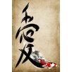 Maxwell Dickson Love Kanji Painting Print on Canvas