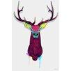 Maxwell Dickson Elks Graphic Art on Canvas